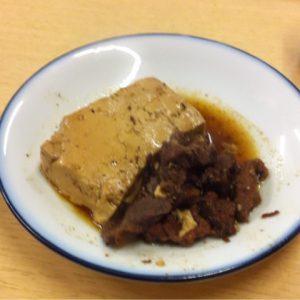 北千住-大はし-肉豆腐