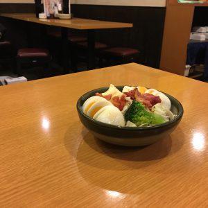 伏見-一軒め酒場-玉子サラダ-0512