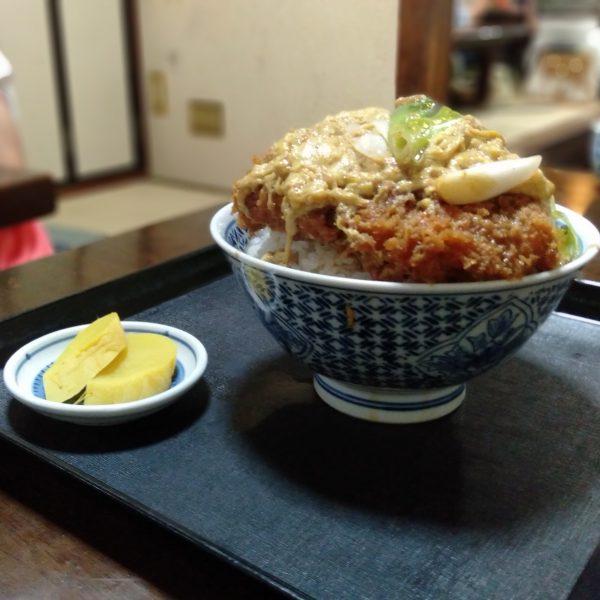 覚王山-玉屋-かつ丼1