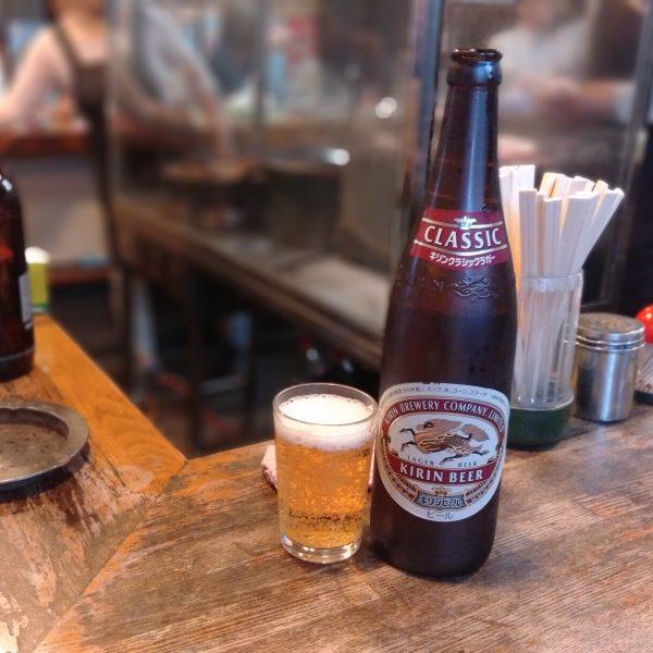 鵜沼_つたや_瓶ビール