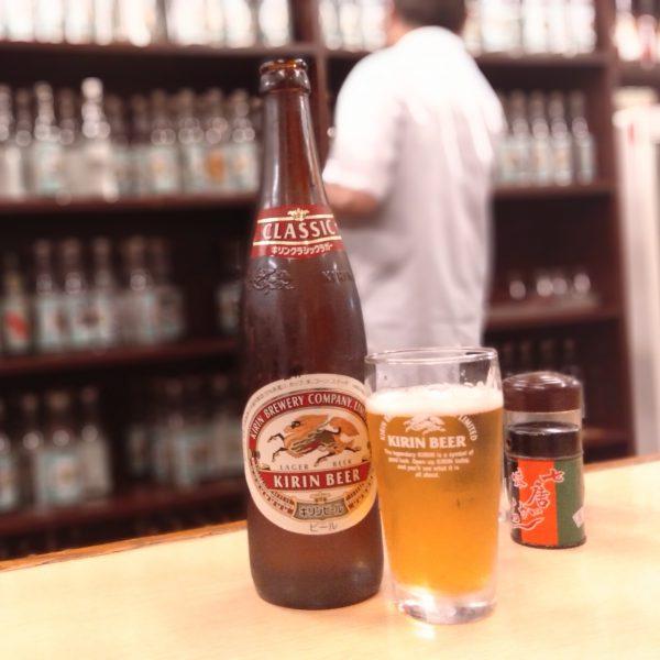 北千住-大はし-瓶ビール