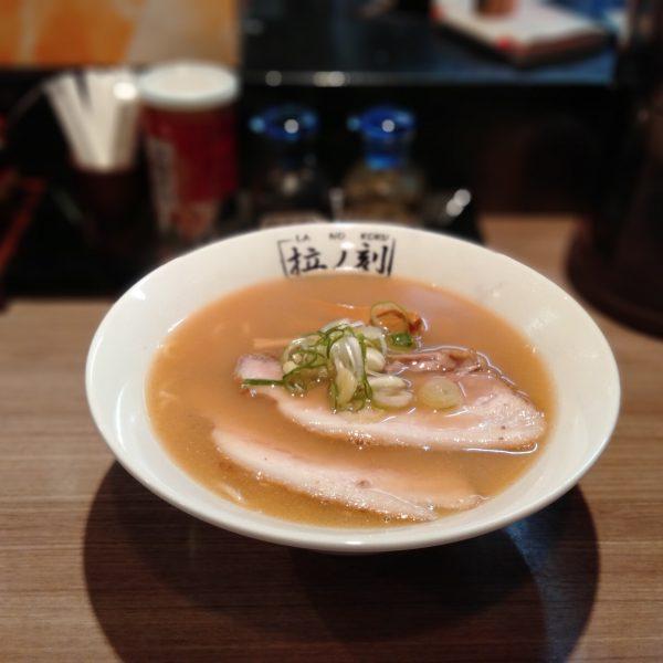 本陣-拉ノ刻-醤油ラーメン1
