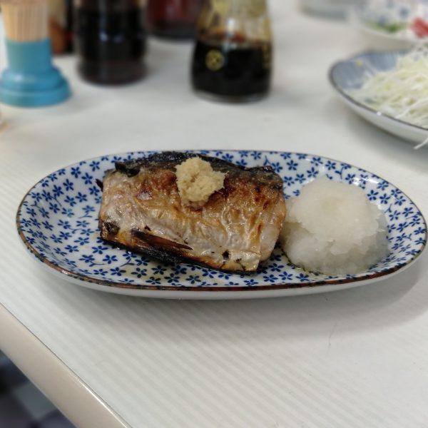 柳橋-魚源-サバ焼き