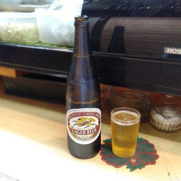 金山-みつ福-瓶ビール