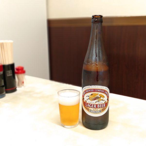 四日市-あさひ食堂-瓶ビール
