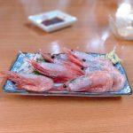 堀切菖蒲園-きよし-甘エビ刺し