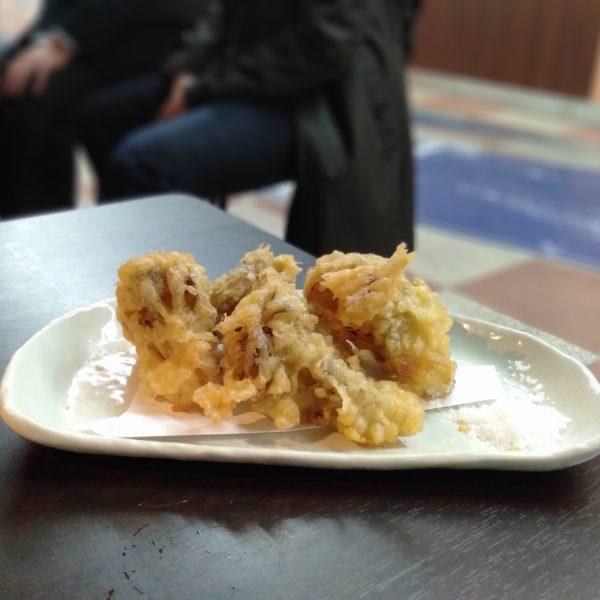 伏見地下-ふつふつや-舞茸の天ぷら