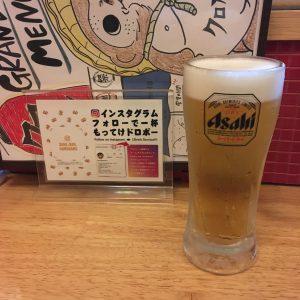 神宮前-クロカル-生ビール-0314
