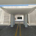 那覇-沖縄県立博物館・美術館-外観-0924