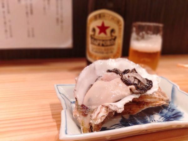 岩塚-三丁目酒場-牡蠣-0626