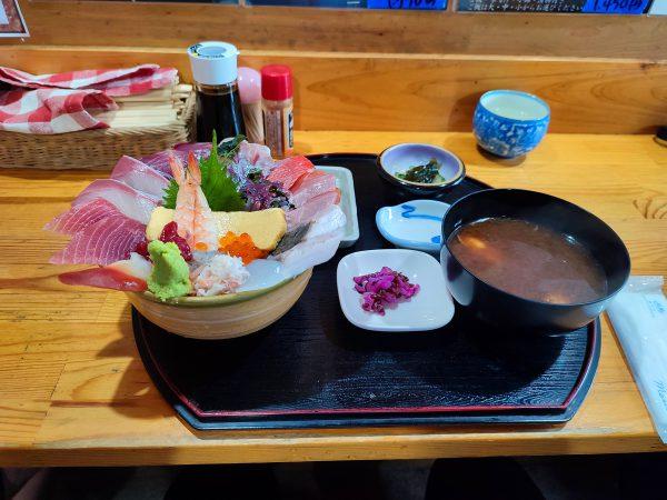 岡崎-平の屋-海鮮ちらし寿司4-0917